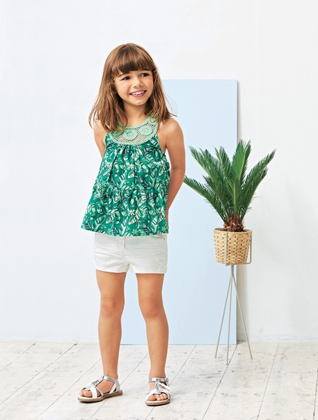 Fille-Les looks-Look tropical parade
