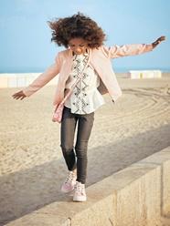Fille-Les looks-Look rose des sables