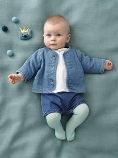 Bébé-Les looks-Blue dressing