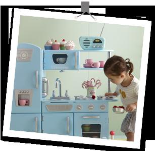 Cuisine vertbaudet cadeaux de no l des mini cuisines pour petits chefs mini cuisine design for Cuisine vertbaudet