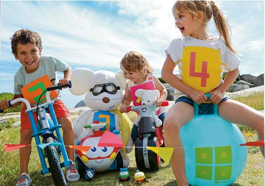 Les jouets de plein air