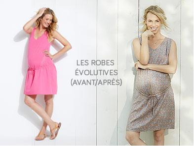 LES ROBES EVOLUTIVES (AVANT/APRES) !
