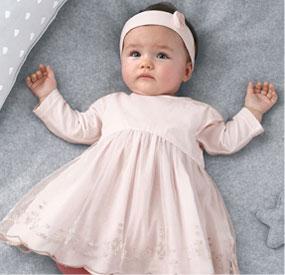 Premiers jours… tout pour dorloter bébé !
