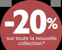 -20% dès 2 articles achetés