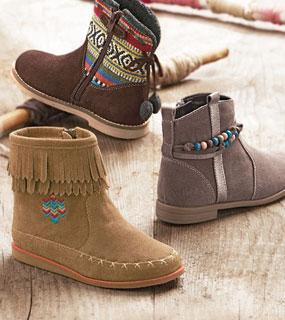Ici c'est pour les chaussures!