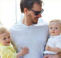 Papa et ses deux bébés