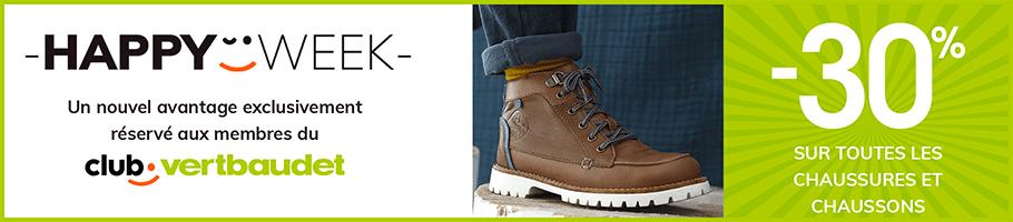 -30% sur toutes les chaussures et chaussons