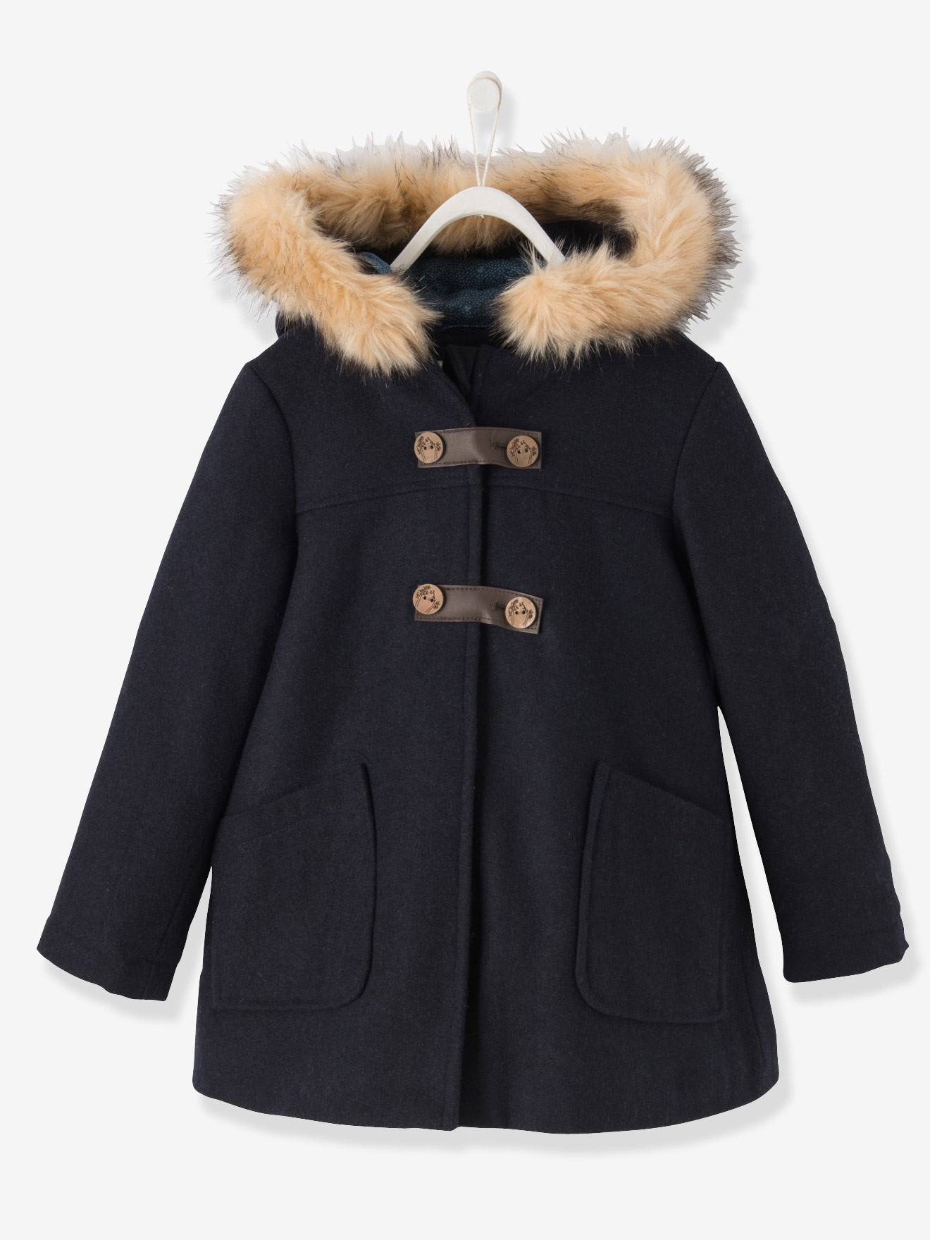 Magasin de manteau pour fille