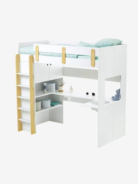 tablette chevet suspendre bleu vertbaudet. Black Bedroom Furniture Sets. Home Design Ideas