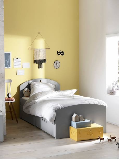 lit fixe enfant sirius avec tiroirs vertbaudet. Black Bedroom Furniture Sets. Home Design Ideas