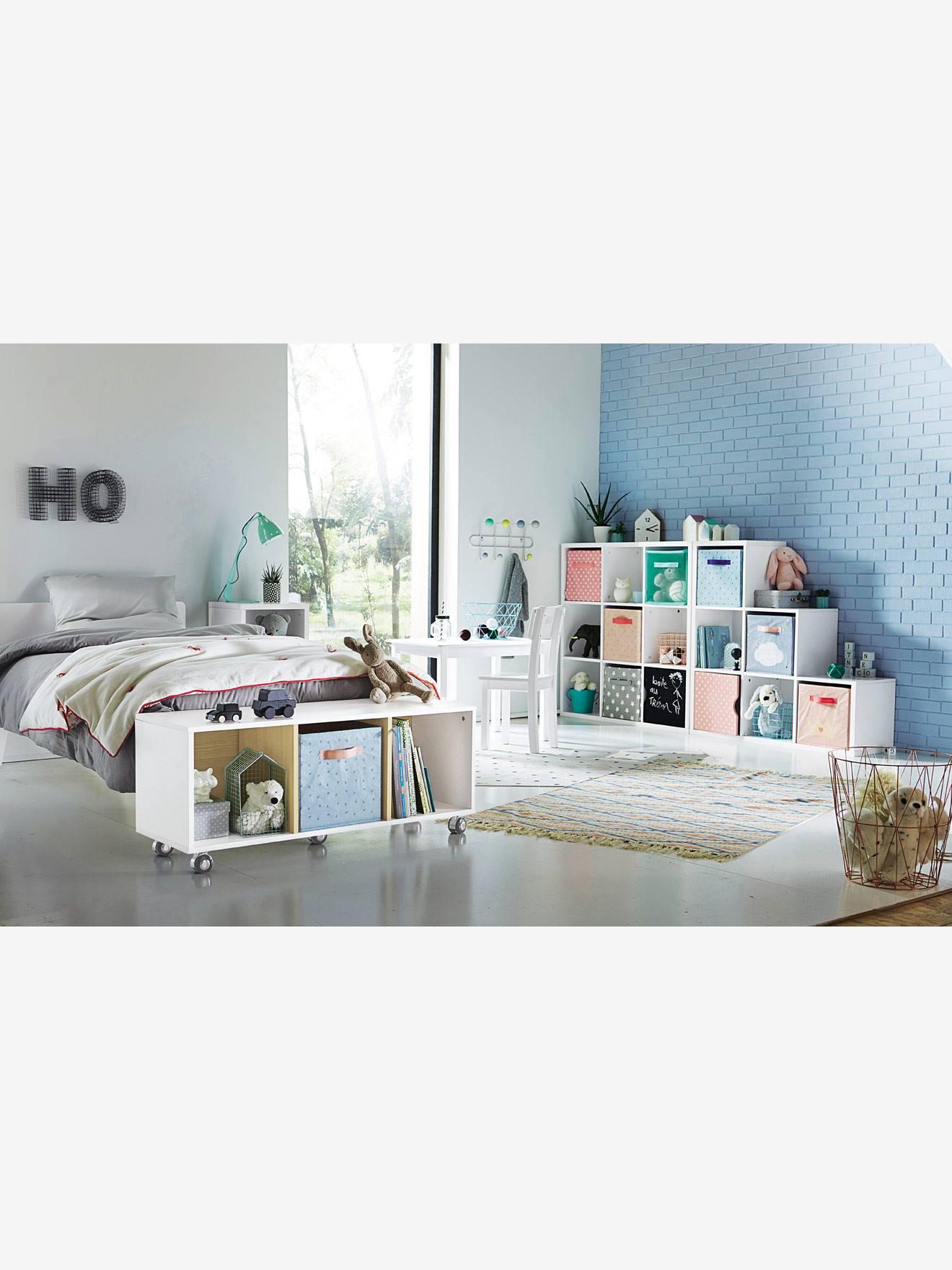 Meuble de rangement 9 cases blanc vertbaudet - Meuble 9 cases ...