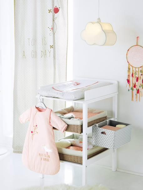 bo te de rangement sp ciale table langer blanc vertbaudet. Black Bedroom Furniture Sets. Home Design Ideas