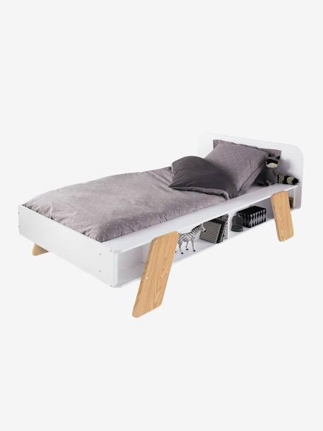 lit enfant ligne architekt blanc vertbaudet. Black Bedroom Furniture Sets. Home Design Ideas