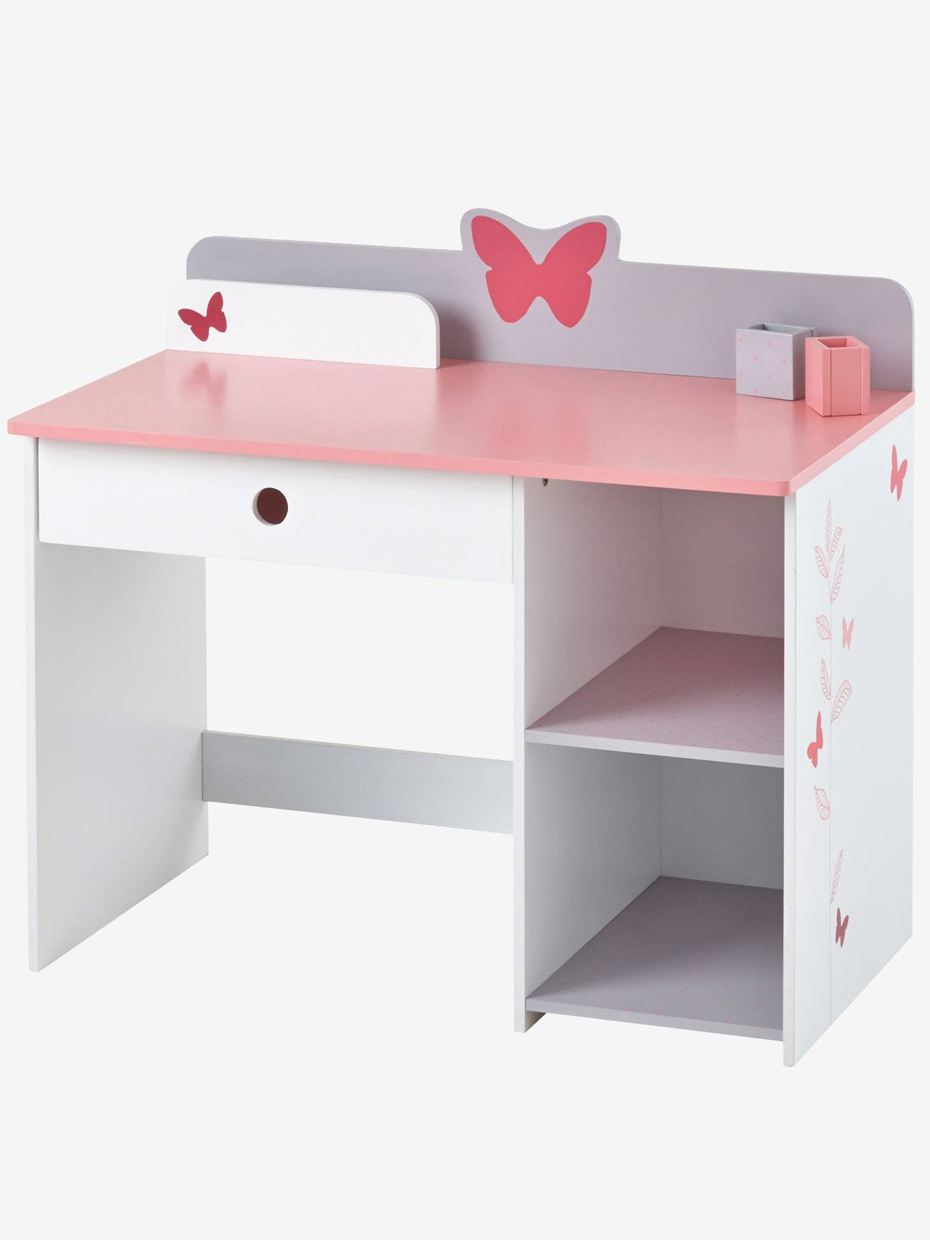 bureau sp cial maternelle envol e blanc vertbaudet. Black Bedroom Furniture Sets. Home Design Ideas