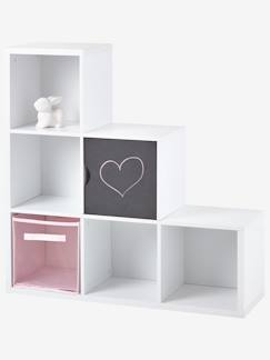 Meubles a cases bacs de rangement enfant rangements for Meuble cube 6 cases