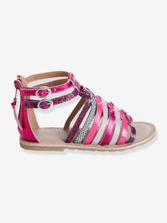 Chaussures-Chaussures fille 23-38-Sandales-Sandales cuir fille