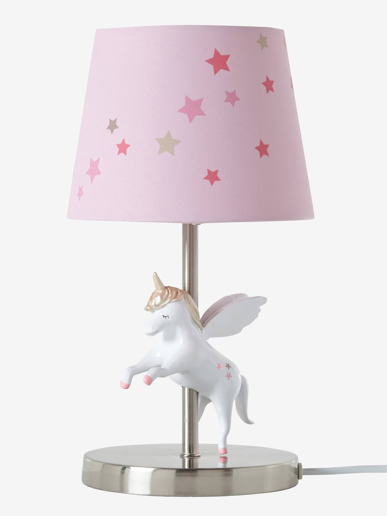 lampe de chevet licorne rose vertbaudet. Black Bedroom Furniture Sets. Home Design Ideas