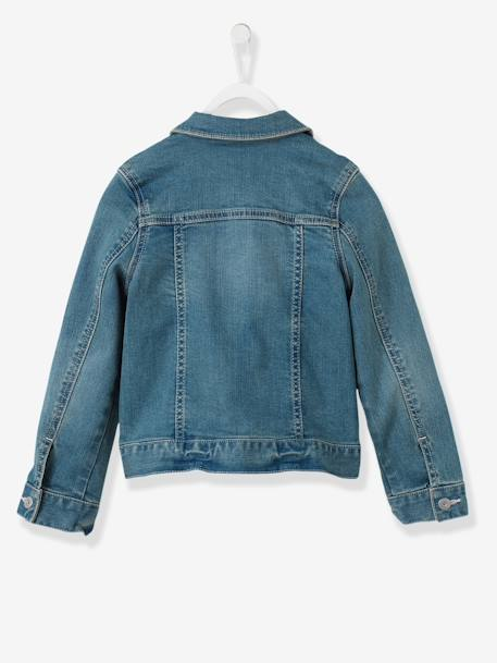 Veste fille en denim stretch Stone 4 - vertbaudet enfant