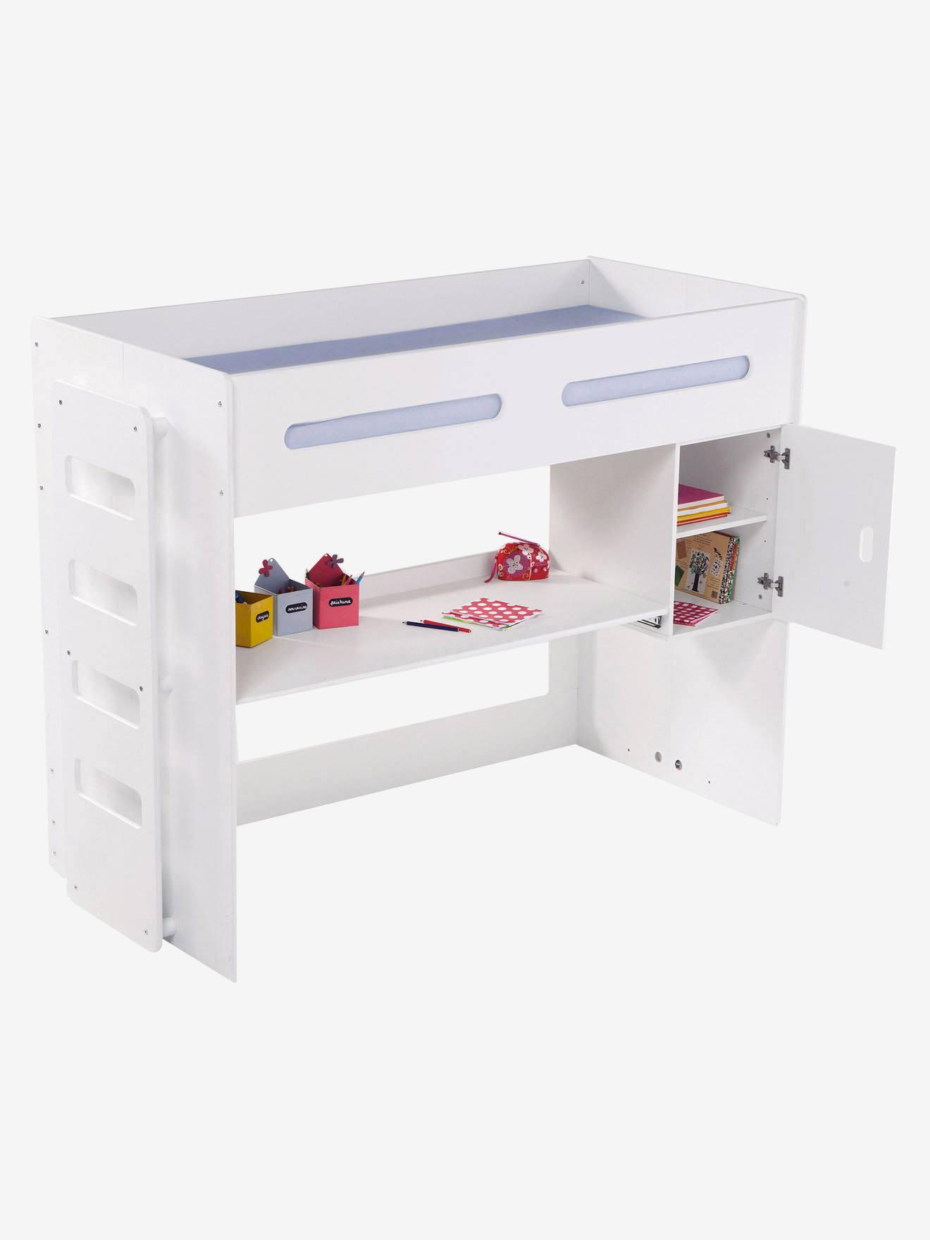 lit avec bureau coulissant trendy salon de jardin pour enfants lit enfant haut avec bureau. Black Bedroom Furniture Sets. Home Design Ideas