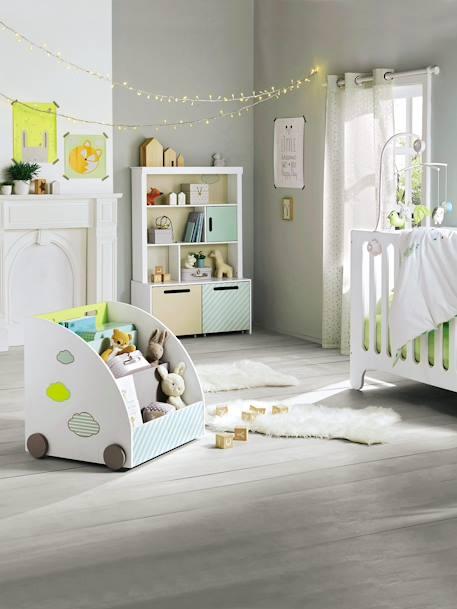 housse de couette b b pic nic multicolore vertbaudet. Black Bedroom Furniture Sets. Home Design Ideas
