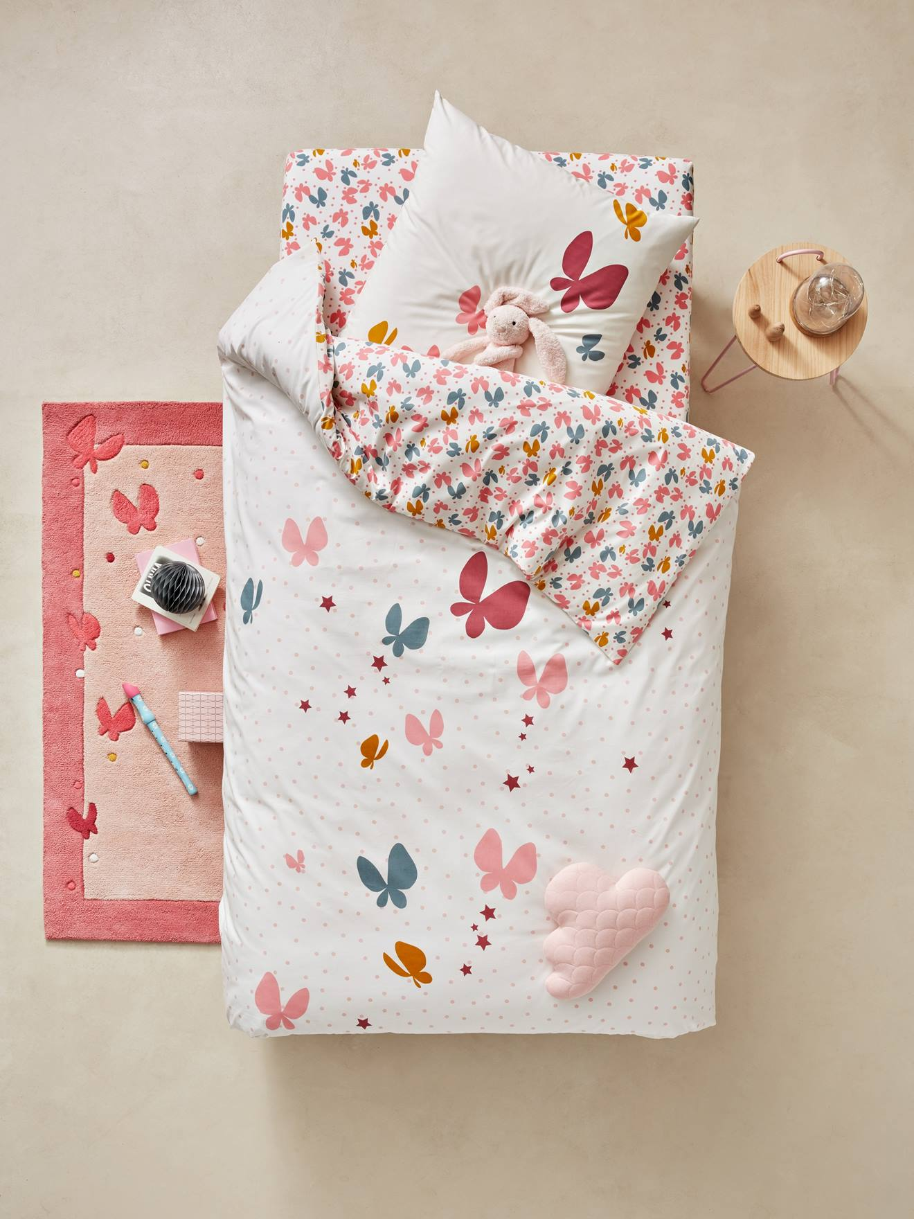 Housse couette vertbaudet - Sac de couchage avec matelas integre pour enfant ...