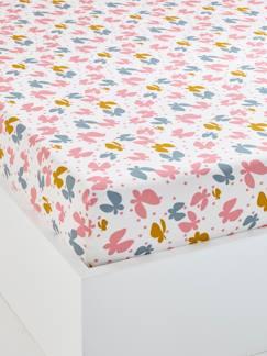 drap housse lit enfant 90x140 parure de lit enfants fille gar on vertbaudet. Black Bedroom Furniture Sets. Home Design Ideas