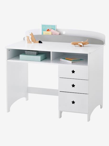 bureau junior sirius blanc vertbaudet. Black Bedroom Furniture Sets. Home Design Ideas