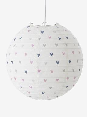 Image of Luminaire enfant - Suspension boule en papier violet vertbaudet