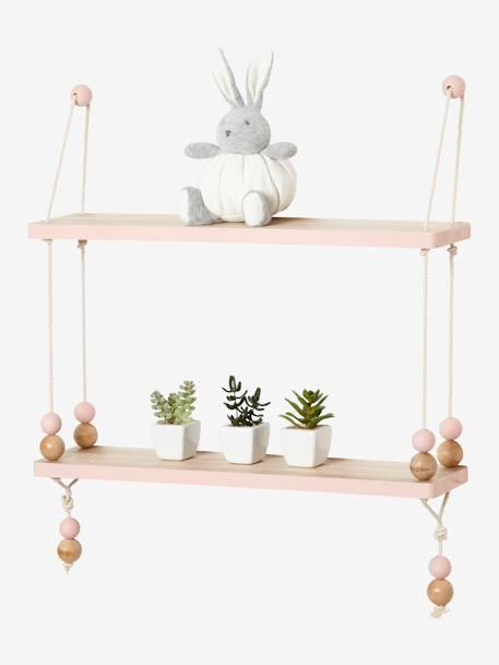 etag re balan oire bois et corde macaron bois vertbaudet. Black Bedroom Furniture Sets. Home Design Ideas