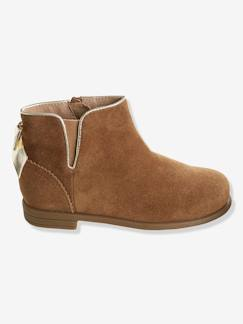 Chaussures-Boots cuir fille