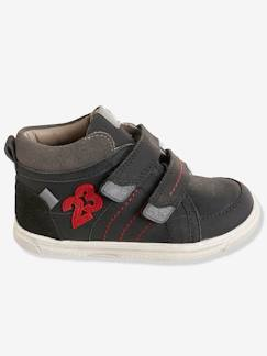 Collection maternelle-Chaussures-Baskets montantes cuir garçon collection maternelle