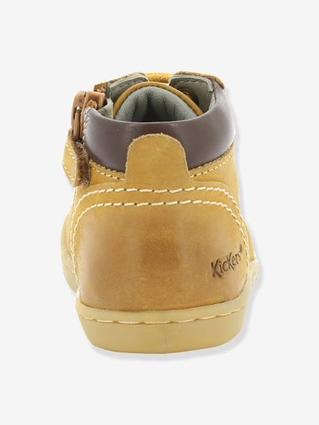 Bottines bébé garçon Tackland KICKERS® à zip Camel+Marron 7 - vertbaudet enfant