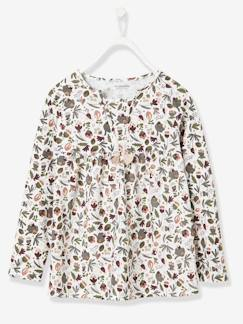 Nouvelle collection-Fille-T-shirt fille esprit blouse