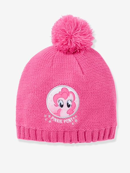 Bonnet fille My little pony® à pompon Parme 1 - vertbaudet enfant