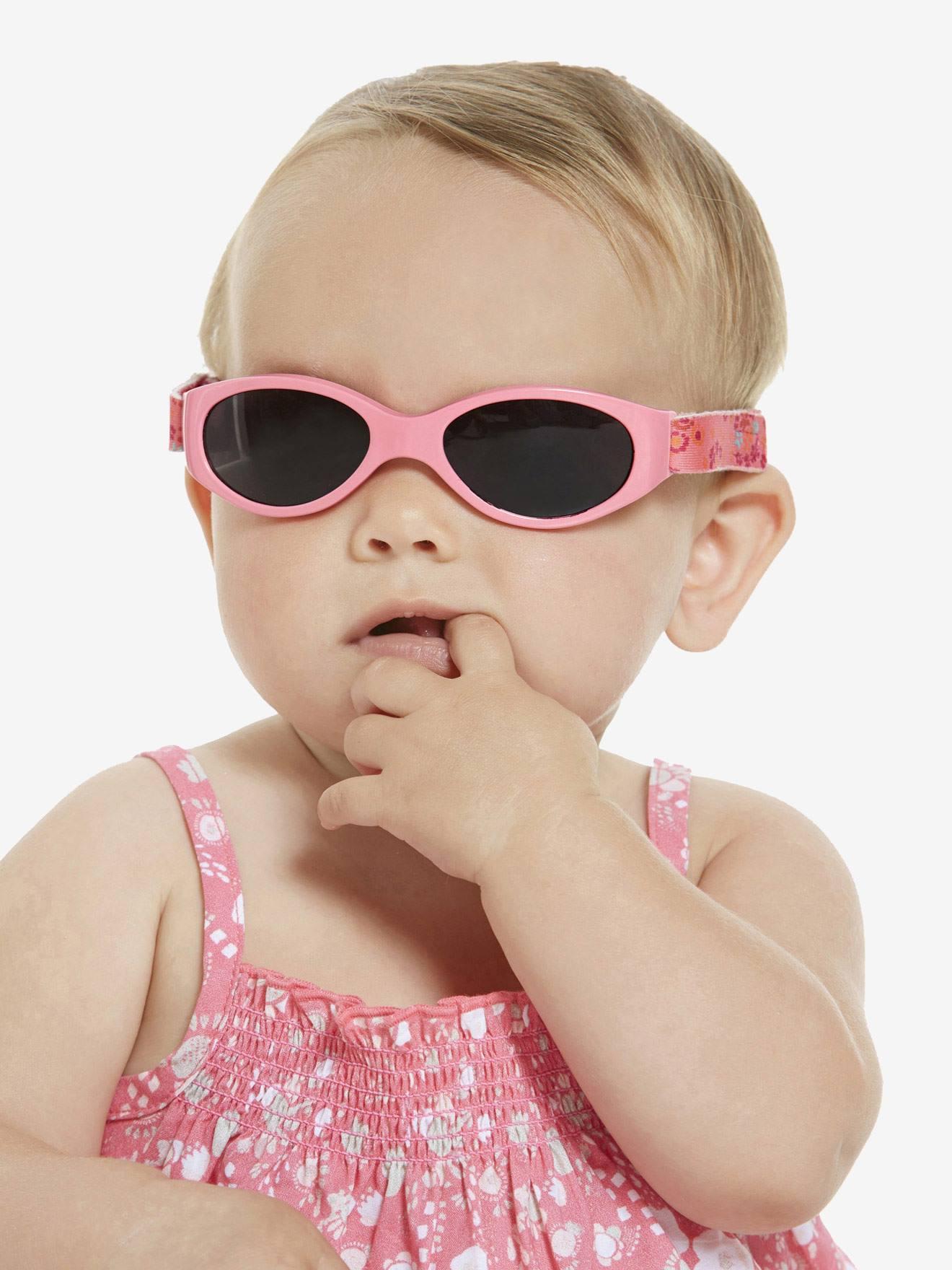 lunettes de soleil vertbaudet pour b b jusqu 39 18 mois. Black Bedroom Furniture Sets. Home Design Ideas