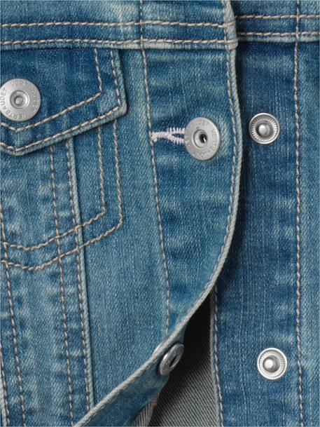 Veste fille en denim stretch Stone 5 - vertbaudet enfant