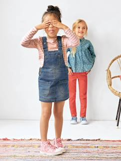 Robes-Robe salopette fille en jean