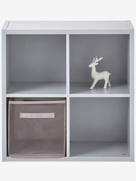 Meuble de rangement 4 cases blanc vertbaudet - Meuble rangement vertbaudet ...