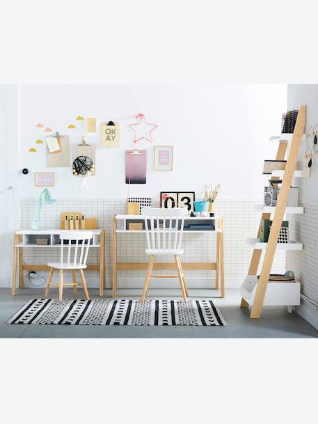 bureau sp cial maternelle ligne architekt blanc bois. Black Bedroom Furniture Sets. Home Design Ideas