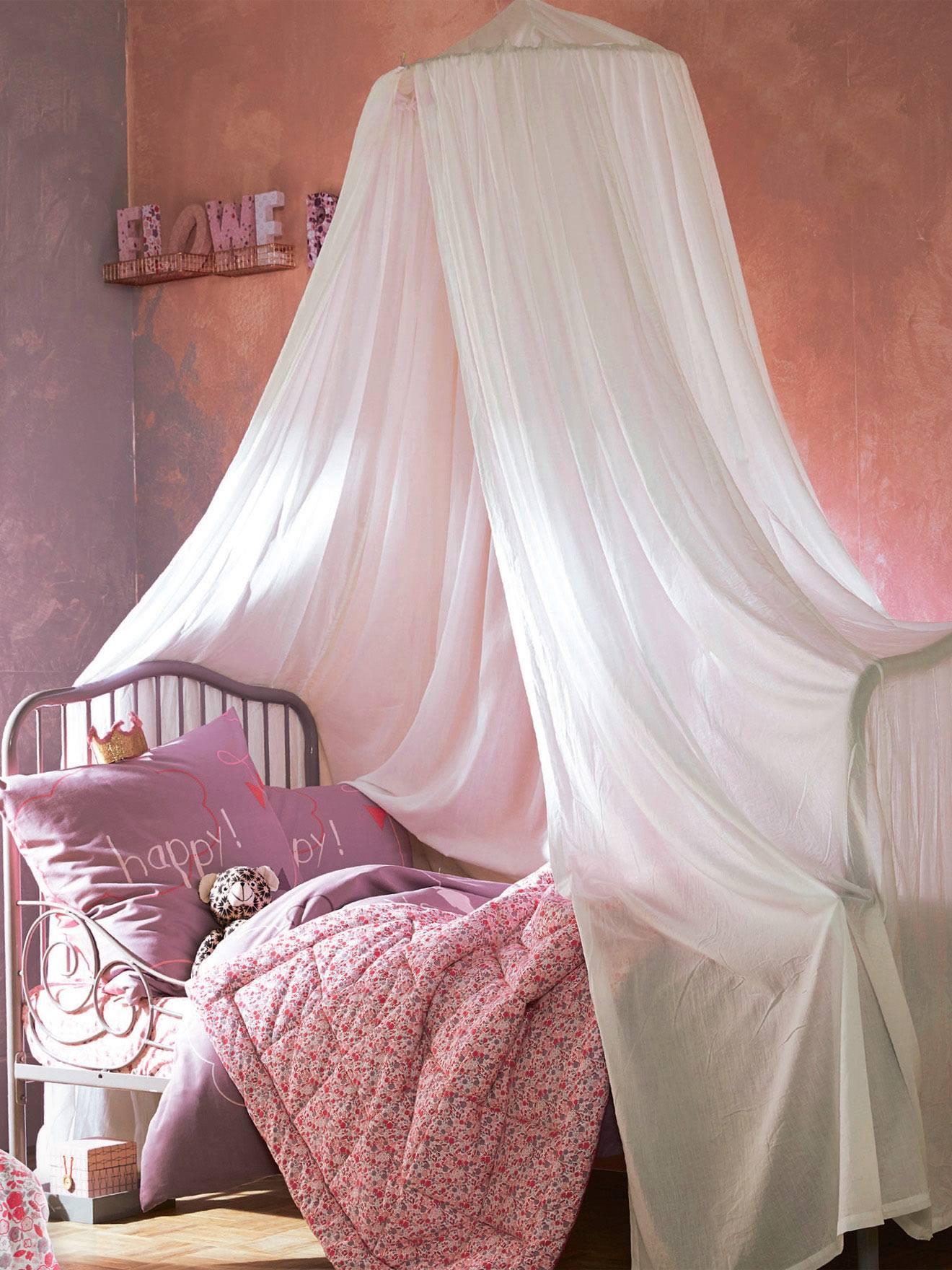 Ciel de lit blanc - Vertbaudet