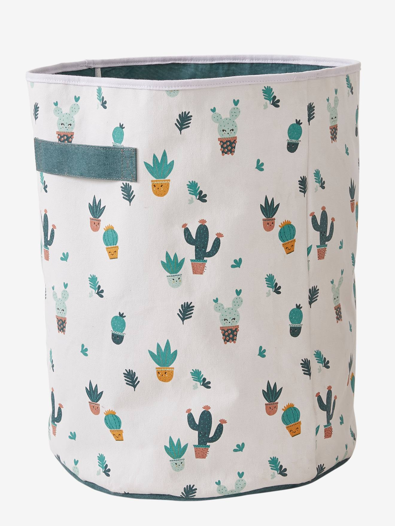 Best-seller Panier de rangement Cactus multicolore E4MP9