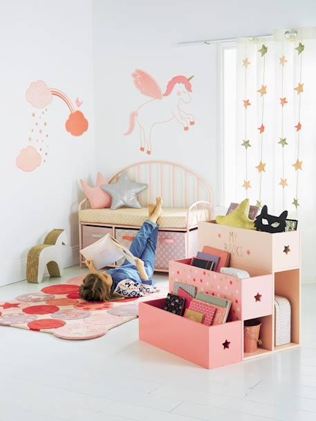 banc de lecture escale estivale rose vertbaudet. Black Bedroom Furniture Sets. Home Design Ideas