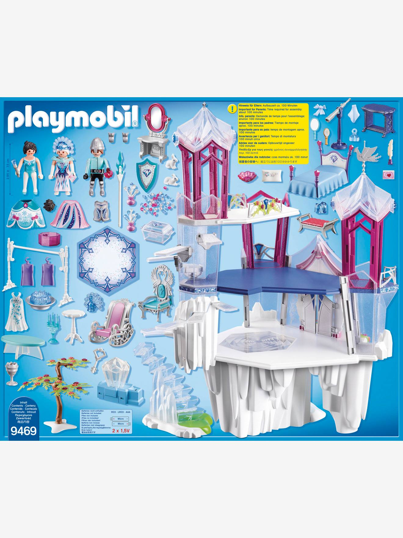 Boutique 9469 Palais de Cristal Playmobil multicolore Playmobil F3RpZ