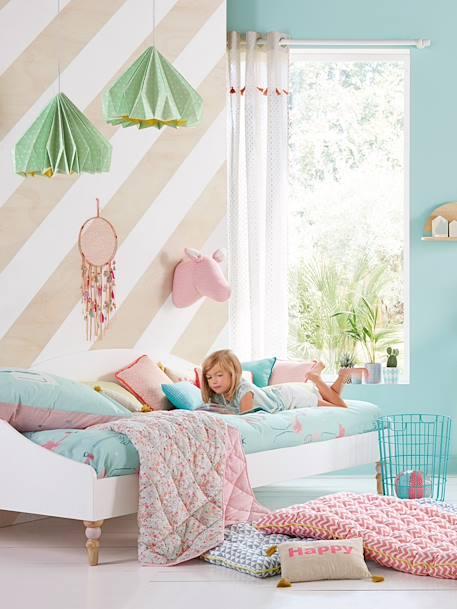 lit banquette romantique vertbaudet. Black Bedroom Furniture Sets. Home Design Ideas