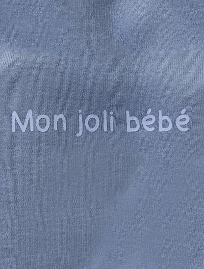 Pyjama bébé coton Blanc+Bleu+Gris clair+Rose poudré+Violet 4 - vertbaudet enfant