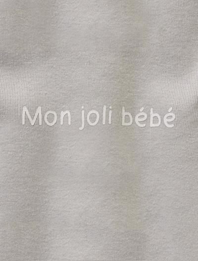 Pyjama bébé coton Blanc+Bleu+Gris clair+Rose poudré+Violet 6 - vertbaudet enfant