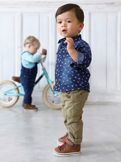 Bébé-Les looks-Cool denim