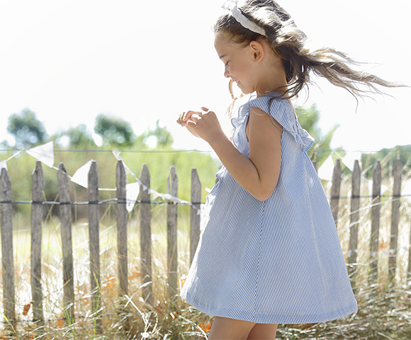 c61b85008ce2f Robe de cérémonie fille - Robe pour ceremonie pour enfant - vertbaudet