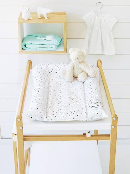 matelas langer vertbaudet blanc imprim vertbaudet. Black Bedroom Furniture Sets. Home Design Ideas