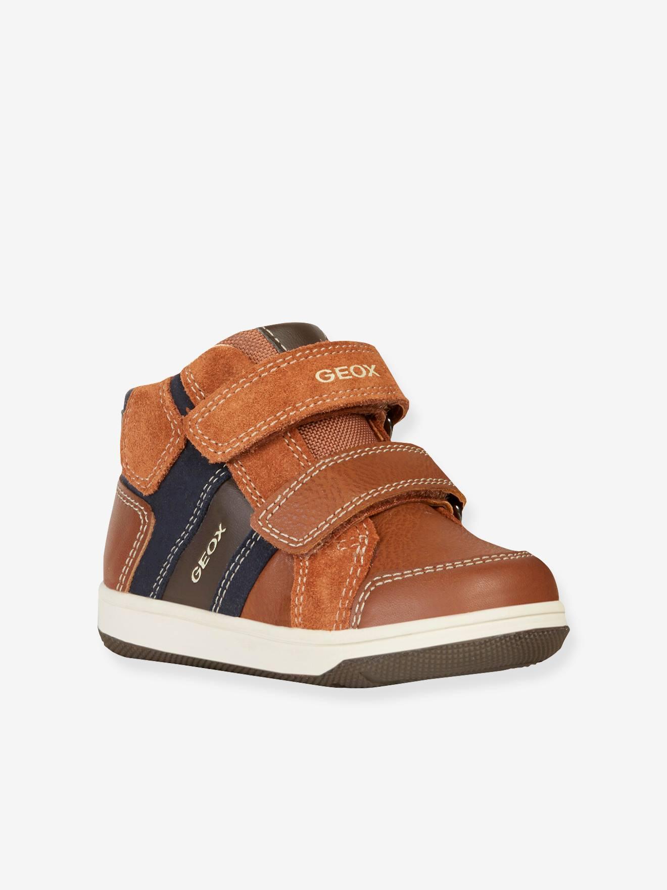 chaussure geox garçon, Garçon Baskets mode Baby Flick Marron
